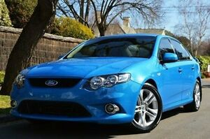 2009 Ford Falcon FG XR6 Blue 5 Speed Sports Automatic Sedan Thorngate Prospect Area Preview