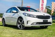 2017 Kia Cerato YD MY18 Sport Clear White 6 Speed Auto Seq Sportshift Sedan Wangara Wanneroo Area Preview