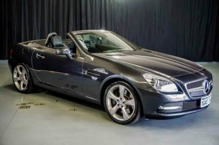 2011 Mercedes-Benz SLK350 R172 BlueEFFICIENCY 7G-Tronic + Grey 7 Speed Sports Automatic Roadster Wangara Wanneroo Area Preview