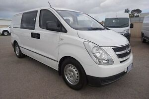 2013 Hyundai iLOAD TQ2-V MY14 Crew Cab White 5 Speed Automatic Van Pearsall Wanneroo Area Preview