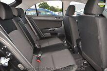 2011 Mitsubishi Lancer CJ MY11 ES Sportback Black 6 Speed Constant Variable Hatchback Cannington Canning Area Preview