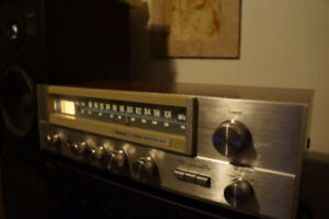 SANSUI 1010 stereo receiver. Works great. 2x10W RMS.  Japan made