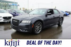 2017 Chrysler 300 AWD S SUNROOF Accident Free,  Navigation (GPS)