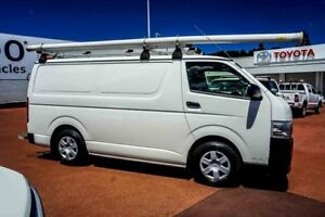 2012 Toyota Hiace KDH221R MY11 Super LWB White 5 Speed Manual Van