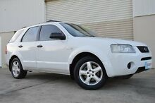 2005 Ford Territory  White Sports Automatic Wagon Ashmore Gold Coast City Preview