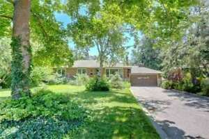 Detached Bungalow W/ 3 Bdrms + Fin Bsmnt In Mississauga