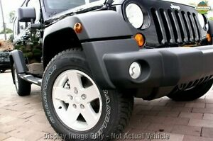 2010 Jeep Wrangler JK MY2010 Unlimited Sport Black 4 Speed Automatic Softtop Wilson Canning Area Preview
