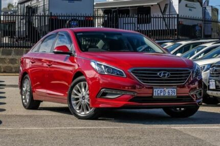 2016 Hyundai Sonata LF3 MY17 Active Red 6 Speed Sports Automatic Sedan Greenfields Mandurah Area Preview