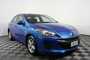 2013 Mazda 3 BL10F2 MY13 Neo Blue 6 Speed Manual Sedan Edwardstown Marion Area Preview