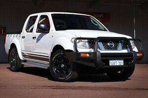 2012 Nissan Navara D40 S7 MY12 RX 4x2 White 6 Speed Manual Utility Northbridge Perth City Area Preview