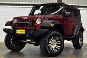 2010 Jeep Wrangler JK MY2010 Sport Red 6 Speed Manual Softtop Thornlie Gosnells Area Preview