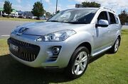 2010 Peugeot 4007 SV DCS Auto HDi Silver 6 Speed Sports Automatic Dual Clutch Wagon Dandenong Greater Dandenong Preview