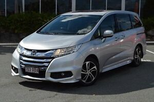 2014 Honda Odyssey Silver Constant Variable Wagon Highland Park Gold Coast City Preview