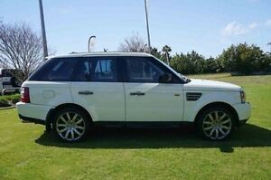 2006 Land Rover Range Rover Sport L320 06MY Super Charged White 6 Speed Sports Automatic Wagon Wangara Wanneroo Area Preview
