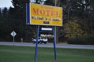 st.thomas motel is offering weekly room for 225 a week