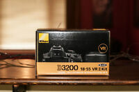 Brand New Nikon D3200 with accessories