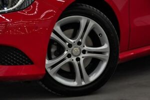 2013 Mercedes-Benz A180 W176 D-CT Red 7 Speed Sports Automatic Dual Clutch Hatchback