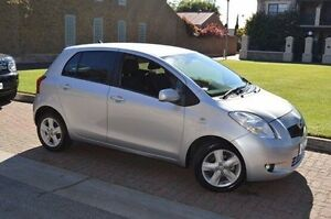 2008 Toyota Yaris NCP90R Rush Silver 5 Speed Manual Hatchback Stepney Norwood Area Preview