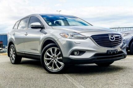 2014 Mazda CX-9 MY14 Grand Touring Silver 6 Speed Auto Activematic Wagon Wangara Wanneroo Area Preview