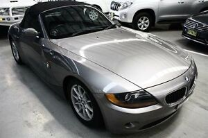 2003 BMW Z4 E85 Grey 5 Speed Manual Roadster Maryville Newcastle Area Preview