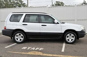 2007 Subaru Forester 79V MY08 X AWD White 4 Speed Automatic Wagon North Gosford Gosford Area Preview
