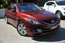 2008 Mazda 6  Red Auto Seq Sportshift Hatchback Meadowbank Ryde Area Preview