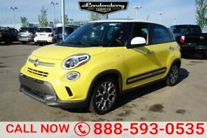 2014 FIAT 500L Accident Free,  Heated Seats,  Panoramic Roof,  B