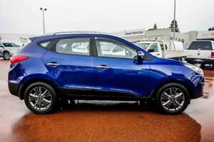 2014 Hyundai ix35 LM3 MY14 Elite AWD Blue 6 Speed Sports Automatic Wagon