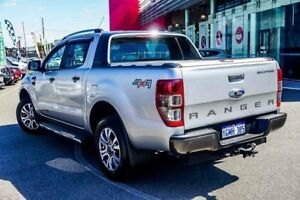 2015 Ford Ranger PX MkII Wildtrak Double Cab Silver Steptronic Utility