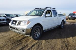 2018 Nissan Frontier 4X4 SL CREW CAB SUNROOF, LEATHER, HEATED SE