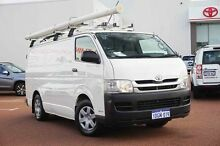 2009 Toyota Hiace KDH201R MY08 LWB White 5 Speed Manual Van Balcatta Stirling Area Preview