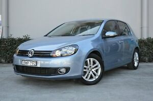 2010 Volkswagen Golf 1K MY11 118 TSI Comfortline Shark Blue 7 Speed Automatic Wagon South Maitland Maitland Area Preview