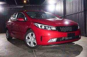 2017 Kia Cerato YD MY17 S Temptation Red 6 Speed Sports Automatic Sedan Wangara Wanneroo Area Preview