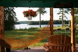 Bemaba Lodge. 400 ft. lakefront, 25 acres, 2 cottages, sleeps 10