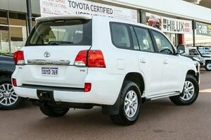 2012 Toyota Landcruiser VDJ200R MY12 GXL White 6 Speed Sports Automatic Wagon Wangara Wanneroo Area Preview