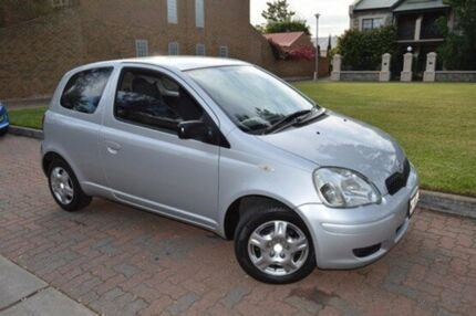 2003 Toyota Echo NCP10R MY03 Silver 4 Speed Automatic Hatchback
