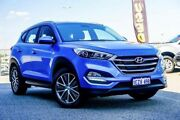 2016 Hyundai Tucson TL Active X (FWD) Blue 6 Speed Automatic Wagon Wangara Wanneroo Area Preview