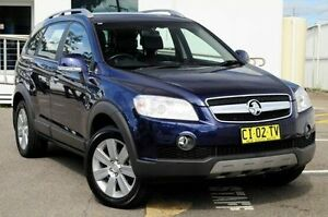 2009 Holden Captiva CG MY09 LX AWD Blue 5 Speed Sports Automatic Wagon North Gosford Gosford Area Preview