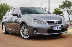 2014 Lexus CT200H ZWA10R MY13 Luxury Silver 1 Speed Constant Variable Hatchback Wangara Wanneroo Area Preview