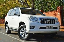 2010 Toyota Landcruiser Prado KDJ150R GXL White 5 Speed Sports Automatic Wagon Thorngate Prospect Area Preview