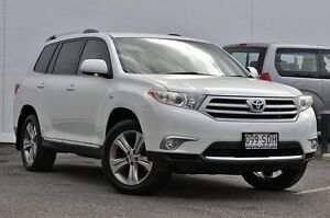 2011 Toyota Kluger GSU45R MY11 KX-S AWD White 5 Speed Sports Automatic Wagon Tweed Heads South Tweed Heads Area Preview