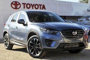 2015 Mazda CX-5 KE1022 Akera SKYACTIV-Drive AWD Blue 6 Speed Sports Automatic Wagon Lisarow Gosford Area Preview