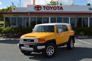 2015 Toyota FJ Cruiser GSJ15R MY14 Yellow 5 Speed Automatic Wagon Highland Park Gold Coast City Preview