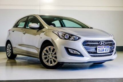 2017 Hyundai i30 GD4 Series II MY17 Active Silver 6 Speed Sports Automatic Hatchback Wangara Wanneroo Area Preview