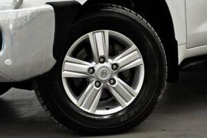 2015 Toyota Landcruiser VDJ200R MY13 VX White 6 Speed Sports Automatic Wagon