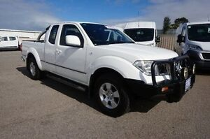 2012 Nissan Navara D40 S6 MY12 ST-X King Cab White 5 Speed Automatic Utility Pearsall Wanneroo Area Preview