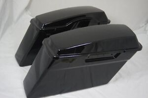 Saddle bags with lids for Harley Touring