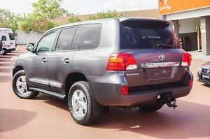 2012 Toyota Landcruiser VDJ200R MY12 Sahara Grey 6 Speed Sports Automatic Wagon Westminster Stirling Area Preview