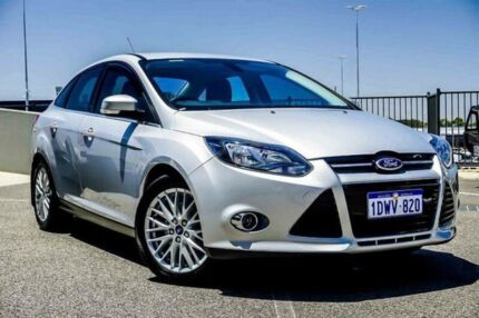 2012 Ford Focus LW Trend Silver 6 Speed Automatic Sedan