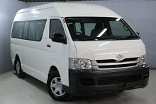 2009 Toyota Hiace KDH223R MY07 Upgrade Commuter White 5 Speed Manual Bus Aberdare Cessnock Area Preview